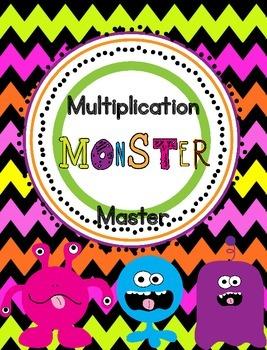Multiplication Monster Masters