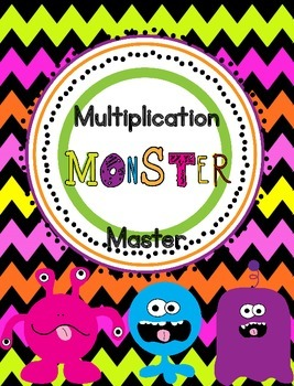 Multiplication Monster Masters