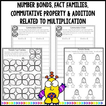 Multiplication Worksheets & Games- Practice For Facts of 6
