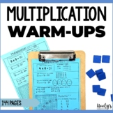 Multiplication Warm-Ups