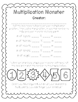 Multiplication Moster