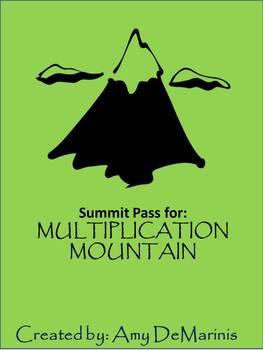 Multiplication Mountain Summit Pass
