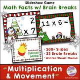 Multiplication Games & Brain Breaks Winter