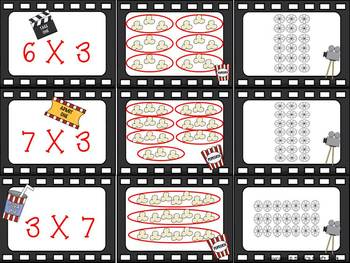 Multiplication Movie Match-Up