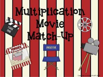 Multiplication Movie Match-Up