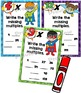 Multiplication Multiples Charts Superhero Theme