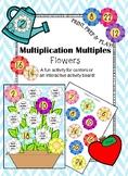 Multiplication Multiples- Flowers