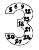 Multiplication Multiples Posters