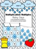 Multiplication Multiples- Rainy Days