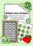 Multiplication Multiples- Shamrock Donuts