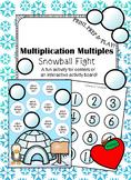 Multiplication Multiples- Snowball Fight