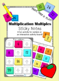 Multiplication Multiples- Sticky Notes