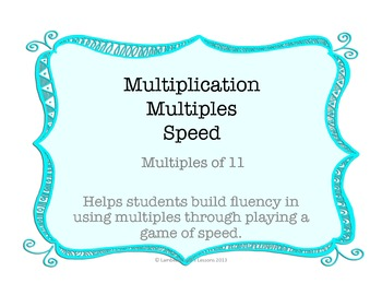Multiplication Multiples of 11
