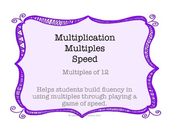 Multiplication Multiples of 12