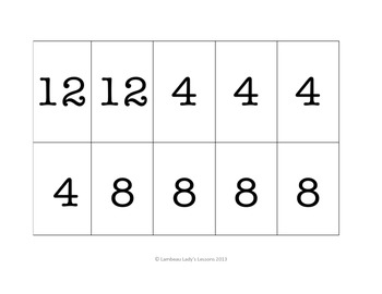 Multiplication Multiples of 2