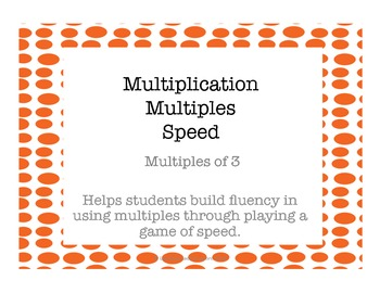 Multiplication Multiples of 3