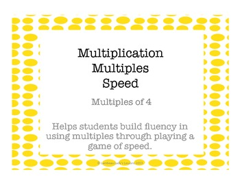 Multiplication Multiples of 4