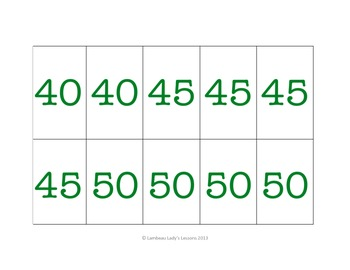 Multiplication Multiples of 5