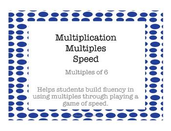 Multiplication Multiples of 6
