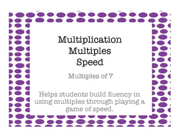 Multiplication Multiples of 7