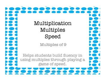 Multiplication Multiples of 9