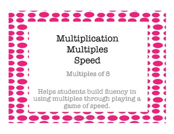 Multiplication Multiples of 8
