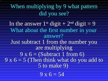 Common Core 3rd - Multiplication 7 - Multiplying by 9 & Review