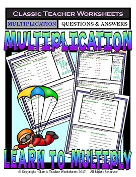 Multiplication - Multiply Using Repeated Addition - Grades 2-3 (2nd-3rd Grade)