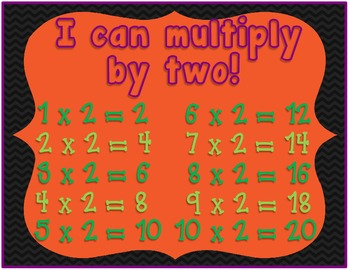 Multiplication Mummy {Practicing Multiplication Facts}