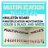 Multiplication Muscle Bulletin Board