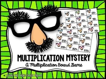 Multiplication Fluency Board Game