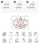 Multiplication Mystery Picture - Pumpkin