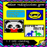 No Prep! Multiplication Mystery, 12 Self-Checking Online A