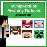 Multiplication Mystery Pictures- Minecraft
