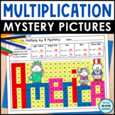 Multiplication Mystery Pictures - Patriotic Edition
