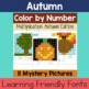Multiplication Mystery Pictures: Year-Round Bundle