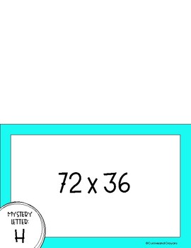 Multiplication Mystery Practice 2 by 2