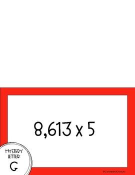 Multiplication Mystery Practice