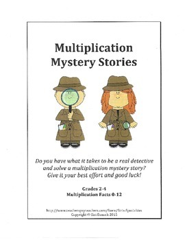 Multiplication Mystery Stories