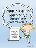 Multiplication Ninja Bump {FREE TEMPLATE}