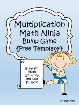 Multiplication Ninja Bump {FREE TEMPLATE}