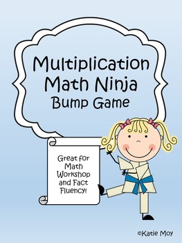 Multiplication Ninja Bump {NO PREP}
