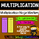 Multiplication Ninja Masters