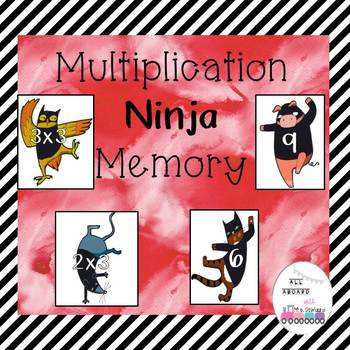 Multiplication Ninja Memory