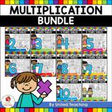 Multiplication No Prep 1 -12 Times Tables Bundle