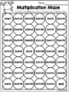 Multiplication Worksheets ( 11 and 12 Times Tables)