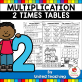 Multiplication Worksheets (2 Times Tables)