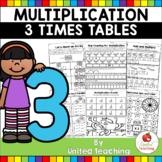 Multiplication Worksheets (3 Times Tables)