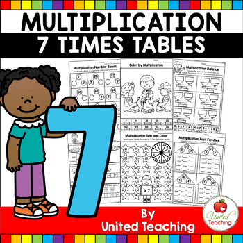 Multiplication No Prep 7 Times Tables