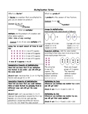 Multiplication Notes